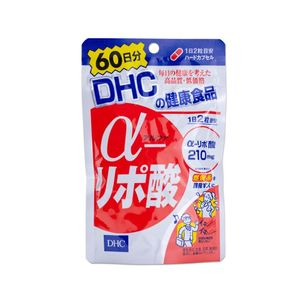 DHC a-Lipoic Acid for 60 days 120 tablets