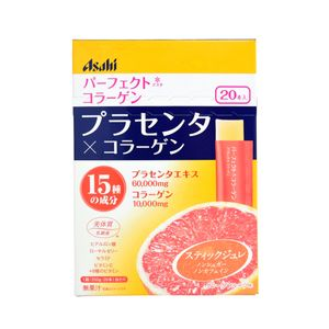 ASAHI Perfect Asta Collagen Placenta Jelly 10g x 20 sachets