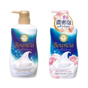 Bouncia Body Soap 550ml with pump 2 types