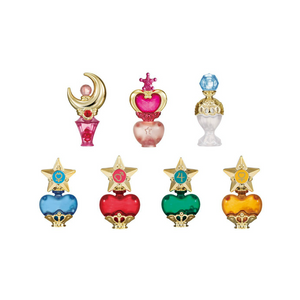 BANDAI sailor moon prism perfume bottle 7pcs set