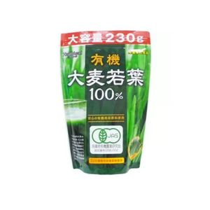 HEATHLEAD Organic 100% Barley Grass Green Juice Powder (230g for 77 days)