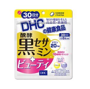 DHC Fermentation Black sesamin + beauty 180 tablets