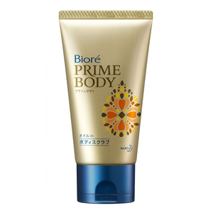 Biore Prime body Oil in Body Scrub 120g