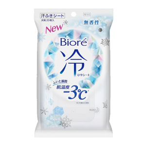 Biore Cool Sheets 20 sheets
