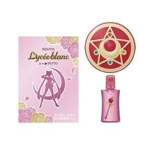 ROHTO Lycee Blanc Redness and Tired Eye Relief Eye Drops Limited Edition Sailor Moon Design 12ml with Case