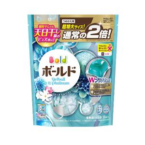 Bold Gel Ball 3D Laundry Detergent W Platinum Refill 705g