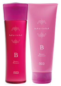 NUMBER THREE MurieM B Shampoo 250ml and Treatment 200g Set