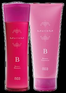 NUMBER THREE MurieM B Shampoo 250ml and Treatment 200g Set