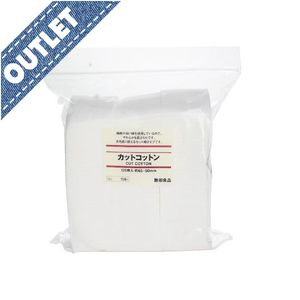 OUTLET MUJI Cut Cotton 65x50mm 120 sheets 6 pcs