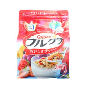 CALBEE Frugura Fruit Granola Cereal 800g
