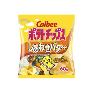 Calbee Potato Chips Happiness Butter 60g x 12 packets