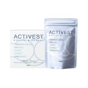POLA ACTIVEST W Calcium & Glucosamine 120 tablets