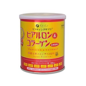 FINE JAPAN Hyaluron & Collagen Can 196g