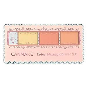 CANMAKE Color Mixing Concealer C12 Yellow & Orange Beige 3.9g