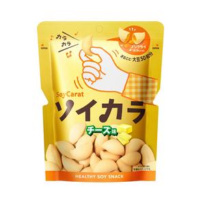 OTSUKA SoyCarat Soybean Snack 27g 18 Packs 4 Flavors