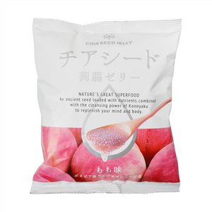 Chia Seed Jelly Peach Flavor 10 pieces