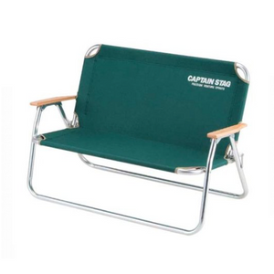 captain stag  Bench CS Aluminum Back Bench Green M-3882