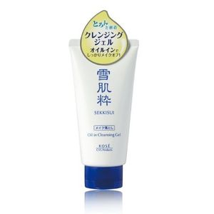 KOSE SEKKISUI Oil-Enriched Cleansing Gel 80g
