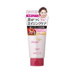 Cleansing Research AHA renew purifying wash 100g
