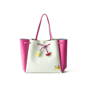 COLORS by jennifer sky tote bag -minnie and daizy-