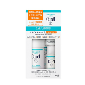 Curel face care trial set -rich-