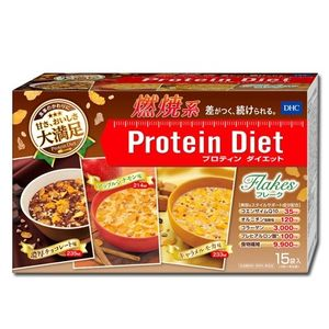 DHC protein diet flakes 15sachet