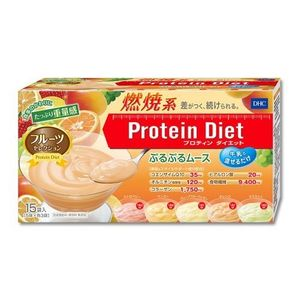 DHC protein diet fruits mousse 15sachet