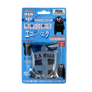 ECOM Air EA Mask Anti-Virus Shield Badge (Blue) ES-020
