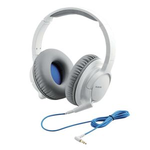 ELECOM stereo headphone EHP-OA300BK