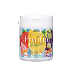 LOTTE Fruitio Assorted Family Bottle 143g