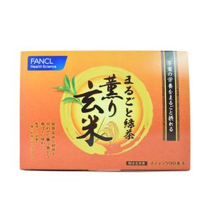 FANCL green tea brown rice flavor 90 sticks