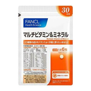FANCL Multivitamins and Minerals 180 tablets