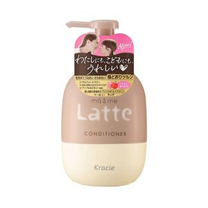 Kracie ma & me Latte Conditioner Apple & Peony 490g