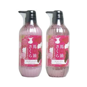 Phoenix Horse Oil Sakura Shampoo 500ml + Conditioner 500ml set