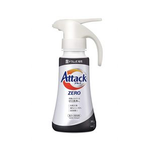 KAO Attack ZERO Liquid Laundry Detergent for Drum Washing Machine One Hand Push 380g