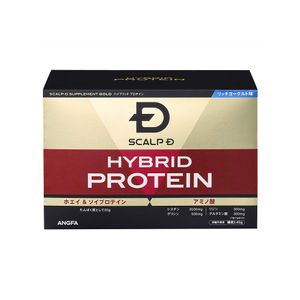 ANGFA Scalp D Hybrid Protein Gold whey and soy protein 30 bags 810g rich yogurt flavor