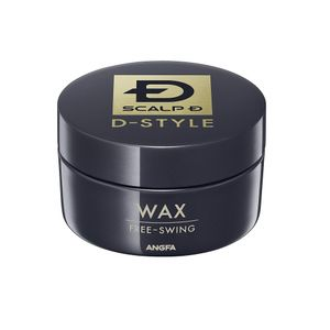 ANGFA Scalp D D-Style Free-Swing Soft Hair Wax 60g citrus green scent