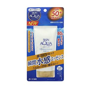 ROHTO Skin Aqua Super Moisture Essence SPF50+ PA++++ 80g for face and body super waterproof