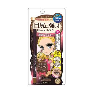 KISSME Heroine Make SP Long Stay Sharp Gel Liner 03 Natural Brown