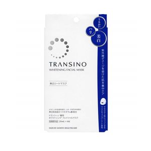 SANKYO Transino Whitening Facial Mask 4 sheets