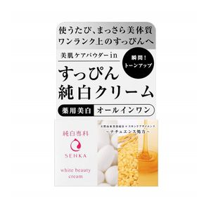 SHISEIDO SENKA No Makeup White Beauty Cream All in 1 Cream 100g