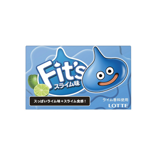 LOTTE Fit's gum -Lime Slime- 10pcs set