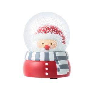 Francfranc Snow Globe M -Santa-