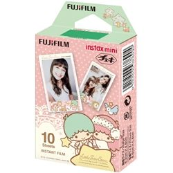 FUJIFILM Instax Mini Film Sanrio Star Twins Kiki & Lala 10 Sheets