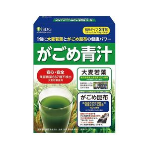 ISDG Gagome Aojiru Barley Young Leaves Gagome Kelp Green Juice 4g x 24 packs