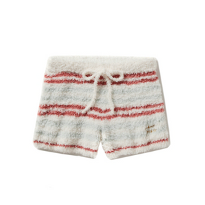 Gelato Pique Gelato Border Shorts -Christmas Sax-