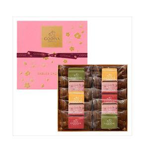 GODIVA Sables Chocolat Sakura 10 pieces