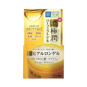 ROHTO HADA LABO Gokujun All in 1 Perfect Gel Hyaluronic Acid × Squalane × Ceramide x Sacran