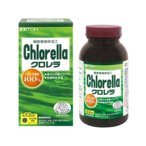 ITOH Chlorella Nutritional Supplement 1600 tablets
