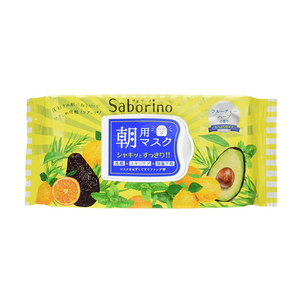 SABORINO Morning Face Mask Regular Type 32 sheets